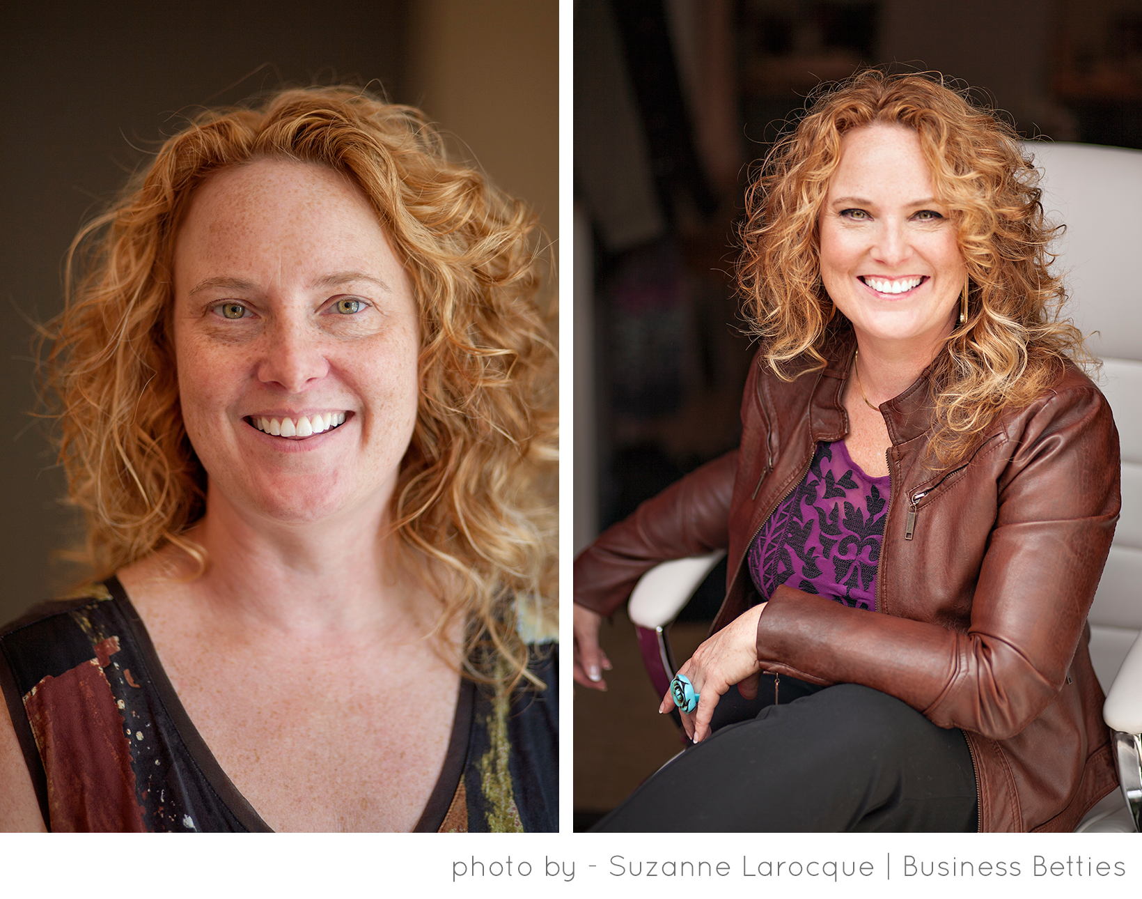 Business Portrait Before & After, Business Betties